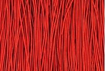 Канитель, гладкая, 1 мм, красная скарлет