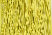 Канитель, гладкая, 1 мм, лимонная