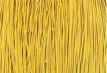 Канитель, мягкая, 1 мм, кремово-золотая