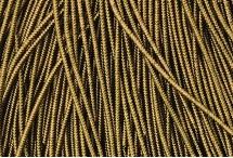 Канитель, трунцал, зиг-заг, 1,5 мм, античное золото