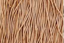 Канитель, трунцал, зиг-заг, 1,5 мм, розовое золото