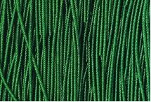 Канитель, трунцал, зиг-заг, 1,5 мм, зелёная