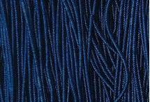 Канитель, трунцал, зиг-заг, 1,5 мм, глубокий синий